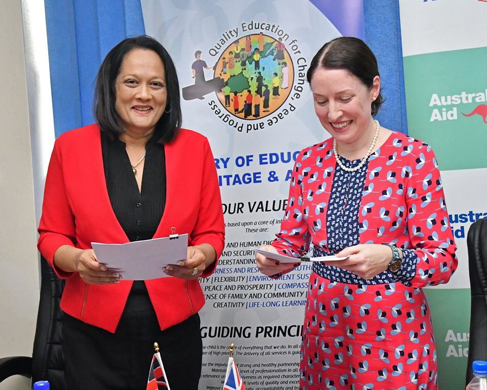 fiji school girls scholarship to australia fiji high commission canberra news 1