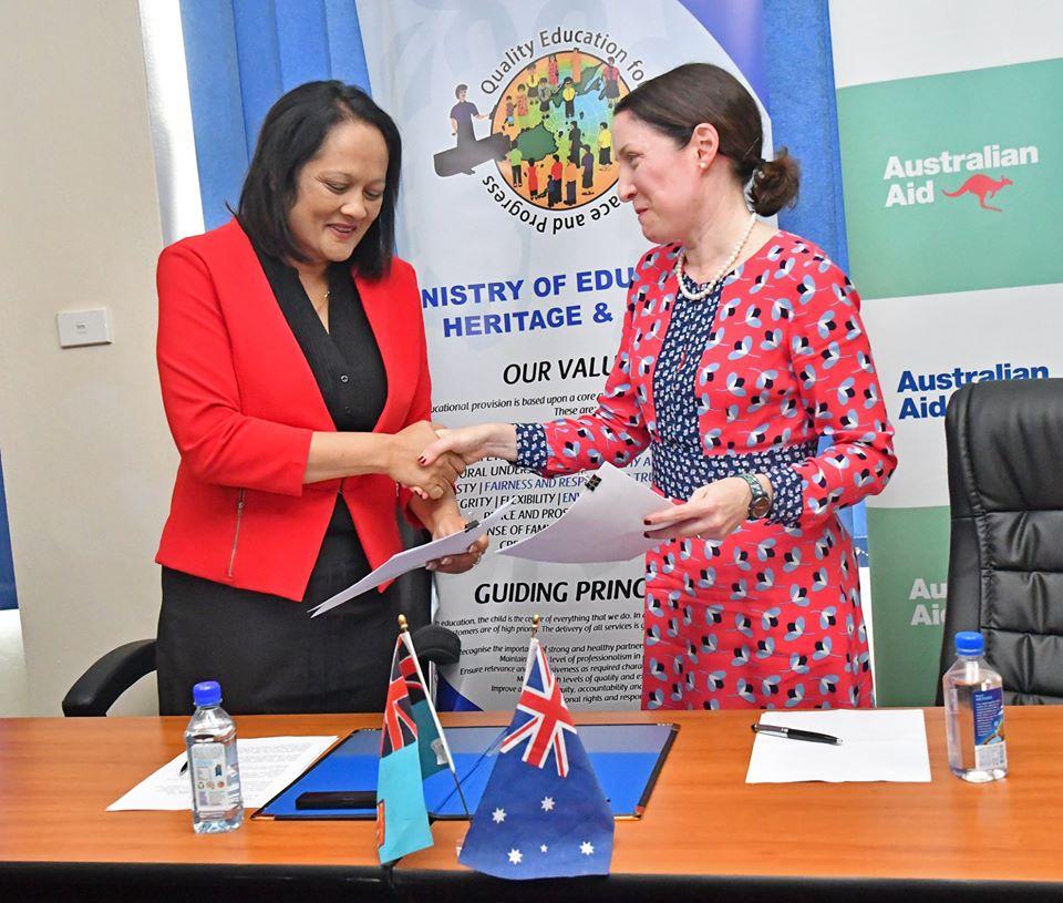 fiji school girls scholarship to australia fiji high commission canberra news 2